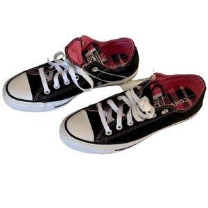 Converse Shoes - Converse AllStar Double Pink Plaid Tongue ShoeNWOB